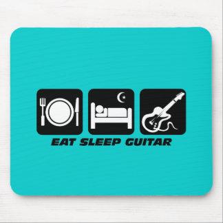 eat sleep guitar mouse mat