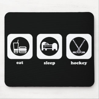 Eat. Sleep. Hockey. Mousepad