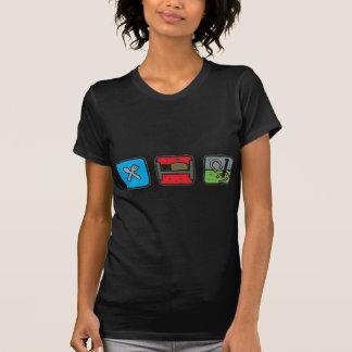 eat_sleep_horseshoes tshirts