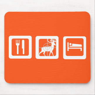 Eat Sleep Hunt Mouse Mat