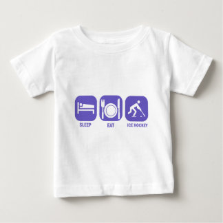 eat sleep ice hockey baby T-Shirt