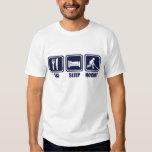 Eat Sleep Ice Hockey Repeat T Shirt