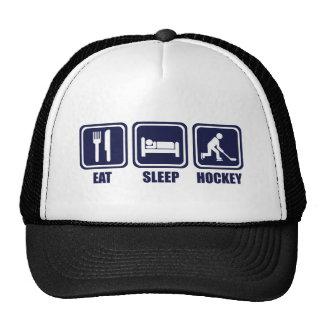 Eat Sleep Ice Hockey Repeat T Shirt Cap