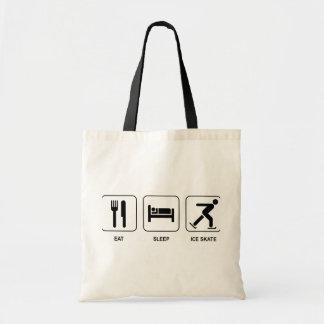 Eat Sleep Ice Skate Bag