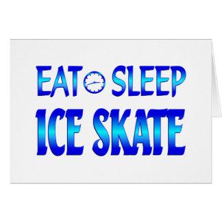 Eat Sleep Ice Skate Cards