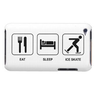 Eat Sleep Ice Skate iPod Touch Covers