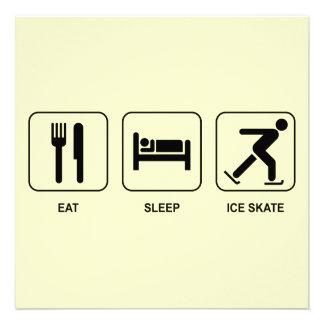 Eat Sleep Ice Skate Announcement