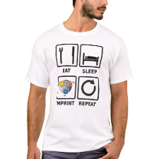 Eat, sleep, imprint, repeat shirt
