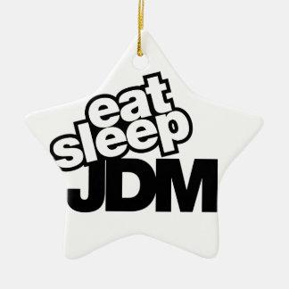 eat sleep JDM Christmas Ornament