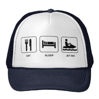 Eat Sleep Jet Ski Hat