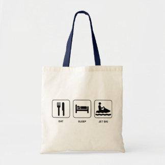 Eat Sleep Jet Ski Tote Bag
