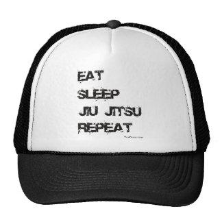 Eat Sleep Jiu Jitsu Repeat Cap