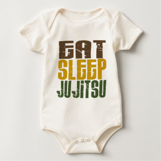 Eat Sleep Ju Jitsu 1 Baby Bodysuit