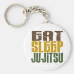 Eat Sleep Ju Jitsu 1 Key Chain