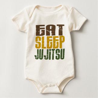 Eat Sleep Ju Jitsu 1 Romper