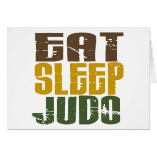 Eat Sleep Judo 1 Card