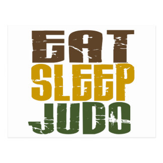 Eat Sleep Judo 1 Postcard