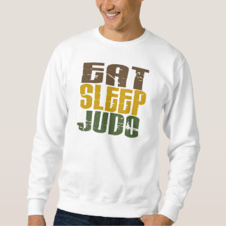 Eat Sleep Judo 1 Sweatshirt