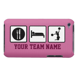 Eat Sleep Jump Cheerleader iPod Touch CaseMate iPod Touch Covers