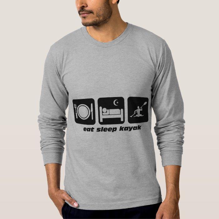 eat sleep kayak T-Shirt