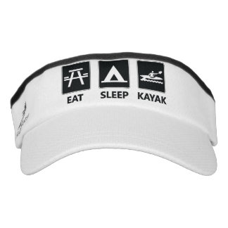 Eat Sleep Kayak Visor