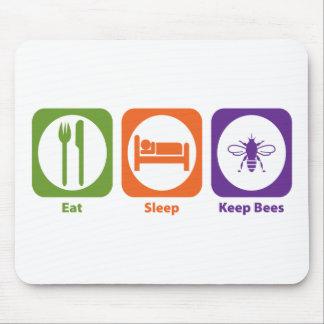 Eat Sleep Keep Bees Mouse Pad