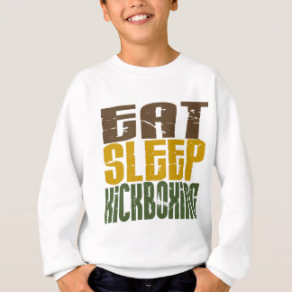 Eat Sleep Kickboxing 1 Sweatshirt