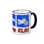 Eat Sleep KLR Coffee Mugs