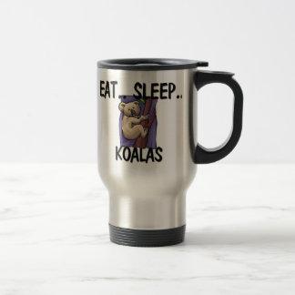 Eat Sleep KOALAS Stainless Steel Travel Mug