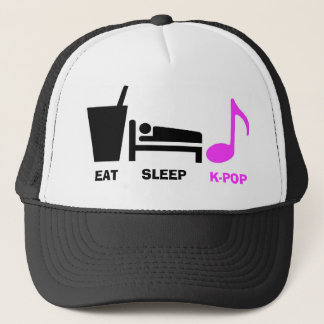 Eat Sleep Kpop Hat
