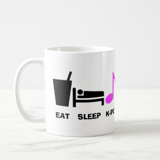 Eat Sleep Kpop Mug