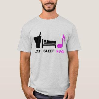 Eat Sleep Kpop T Shirt (light)
