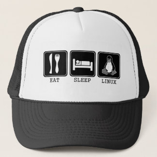Eat. Sleep. Linux. Trucker Hat