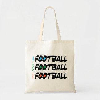 Eat Sleep Live Football Bag