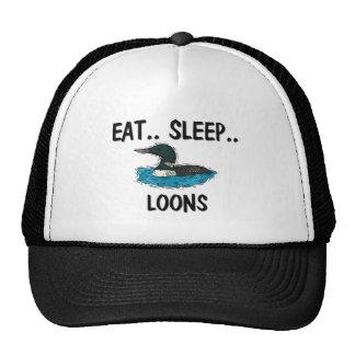 Eat Sleep LOONS Mesh Hats
