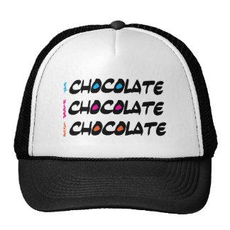 Eat Sleep Love Chocolate Cap