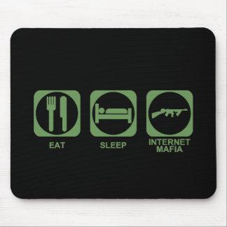 Eat Sleep Mafia Mouse Mat