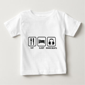 Eat Sleep Make Beats Baby T-Shirt