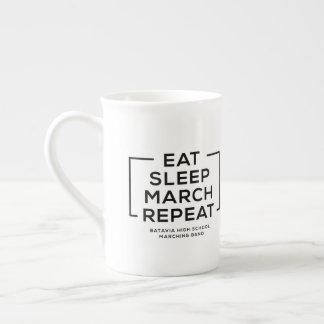 Eat - Sleep - March - Repeat Mug