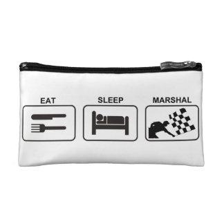 """""""Eat - Sleep - Marshal"""" by Flagman Makeup Bag"""
