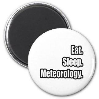 Eat. Sleep. Meteorology. Magnets