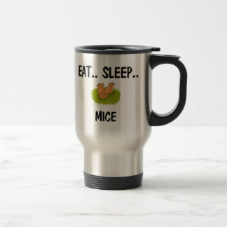 Eat Sleep MICE Travel Mug