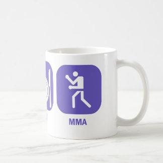 Eat Sleep MMA Coffee Mug