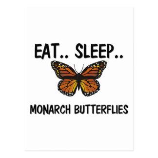 Eat Sleep MONARCH BUTTERFLIES Postcard