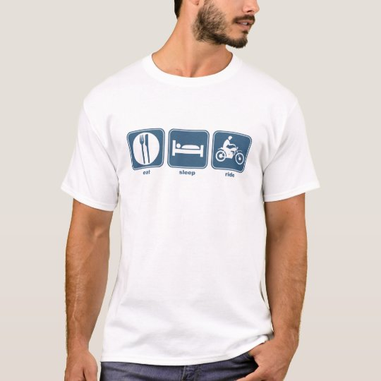 eat sleep motorbike T-Shirt