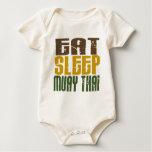 Eat Sleep Muay Thai 1 Baby Creeper
