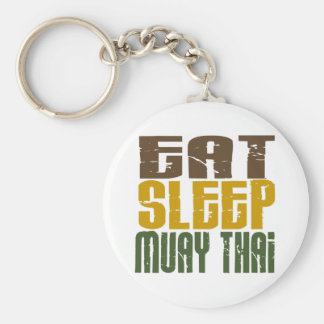 Eat Sleep Muay Thai 1 Key Ring