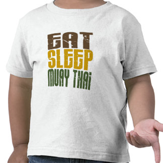 Eat Sleep Muay Thai 1 Shirts