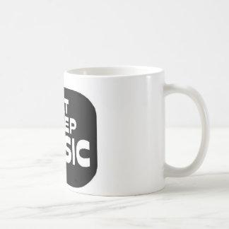 Eat Sleep Music Basic White Mug