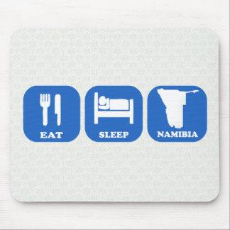 Eat Sleep Namibia Mouse Pad